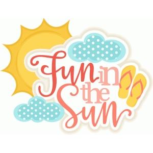 silhouette design store view design 79939 fun in the sun title