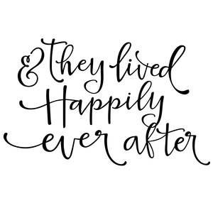 they lived happily ever after phrase