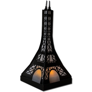 eiffel tower lantern (flameless)