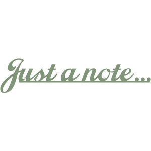 just a note phrase