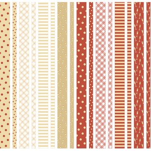 orange washi tape patterns