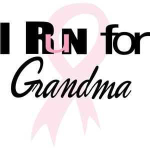 i run for grandma phrase