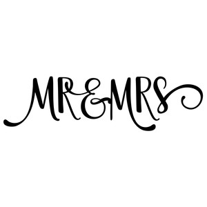 mr & mrs phrase