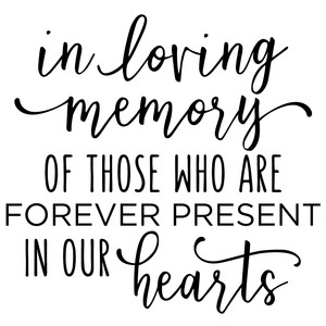in loving memory phrase