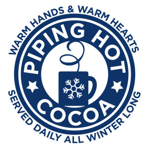 christmas ad - piping hot cocoa