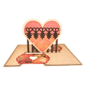 heart lace impossible card