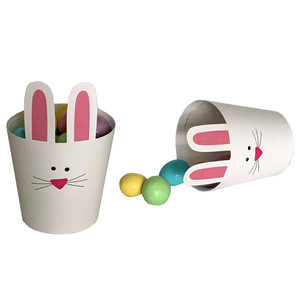 bunny treat cup