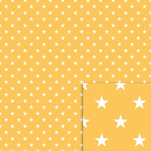 yellow stars background paper