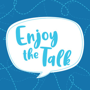 enjoy the talk font