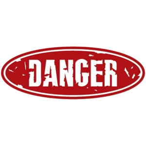 sign: danger