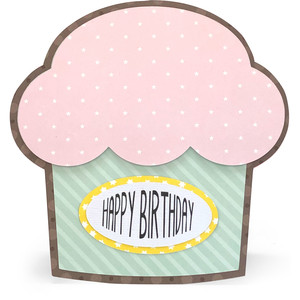 pop up card birthday cupcake candle