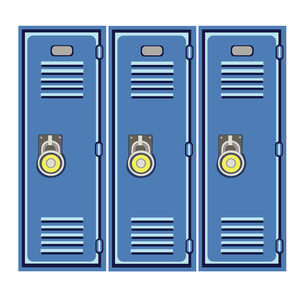 lockers back to school