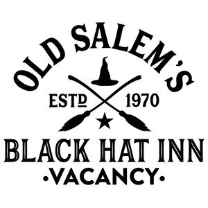 old salem's black hat inn