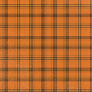 pumpkin plaid pattern