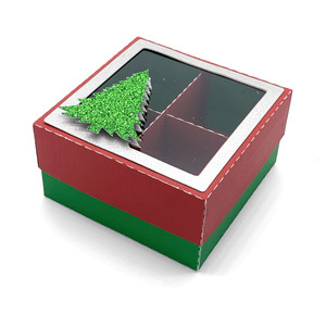 christmas tree with divided box