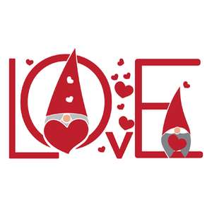gnome love sign