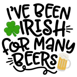 irish for many beers