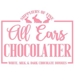 all ears chocolate sign