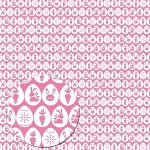 easter eggs pattern (pink)