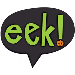 'eek' speech bubble