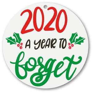 2020 a year to forget ornament