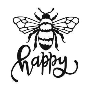 bee happy phrase