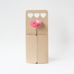 heart flower envelope by farren celeste