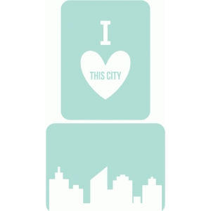 city journaling cards 3x4