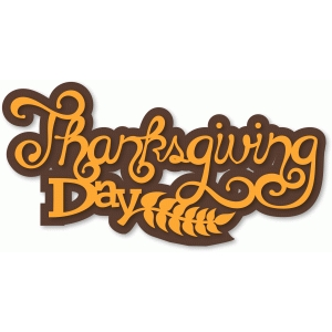 phrase - thanksgiving day