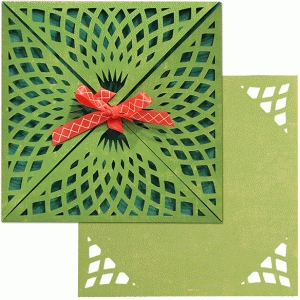 card wrap set: net lace