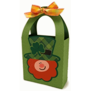3d leprechaun handle box