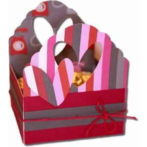 decorative heart box