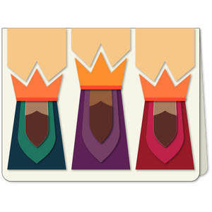 three kings trio a6 card