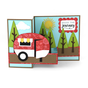 pop up box card camper