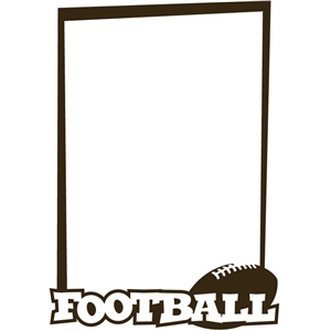 football frame tall