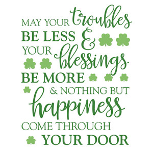 irish happiness blessing