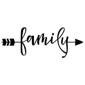 word arrow - family