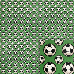 soccer balls background paper