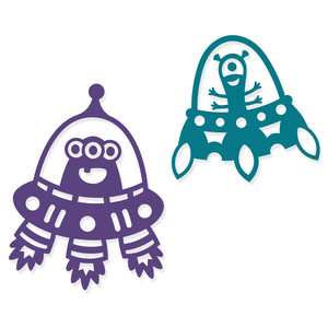 two friendly aliens, ufo