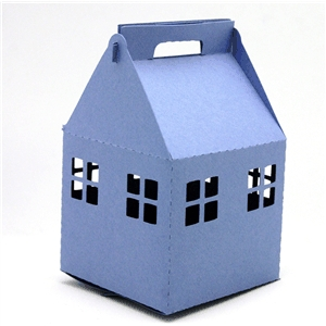 3d box house gable