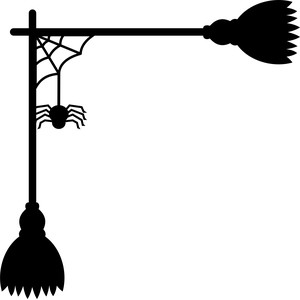 brooms and spider corner