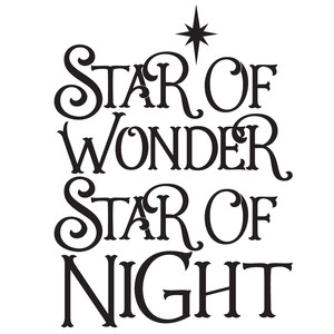 star of wonder, star of night