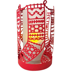 christmas stockings lantern