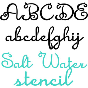 zp salt water taffy stencil