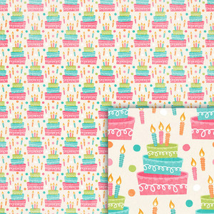 birthday cake background paper
