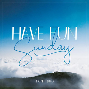 have fun sunday font duo