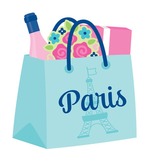shopping bag - french kiss