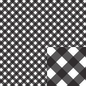 black gingham background paper