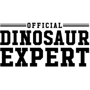 official dinosaur expert