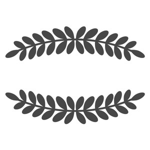 laurel leaf borders
